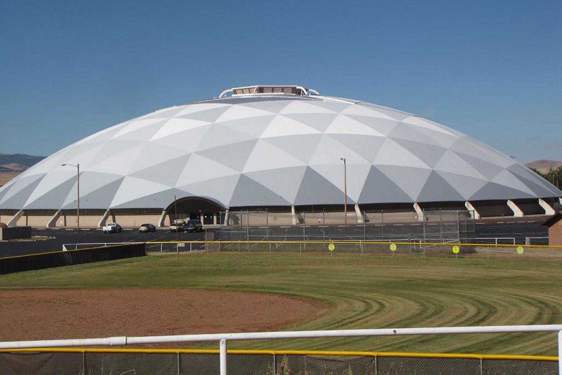 Round Valley Schools Ensphere Dome Progressive Roofing