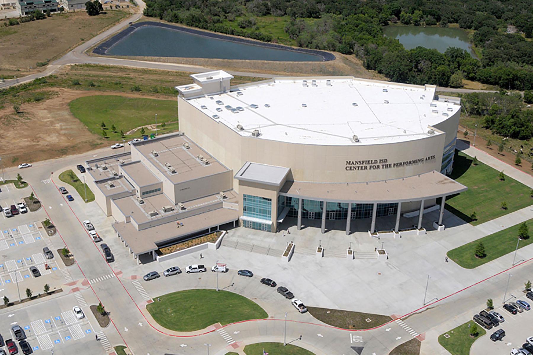 Mansfield Performing Arts Progressive Roofing