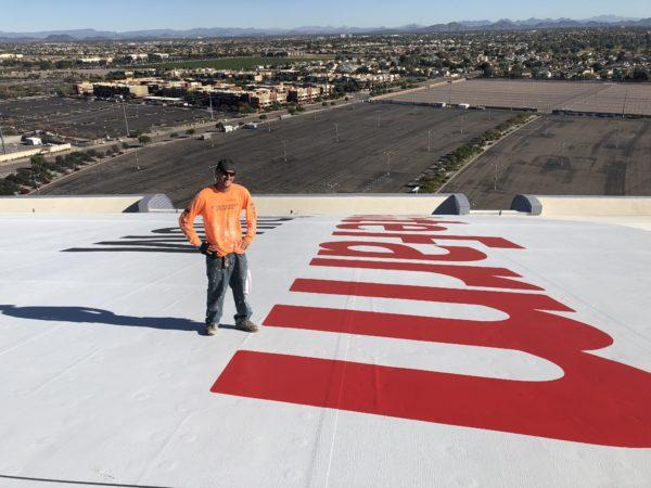 Re-branding a Roof